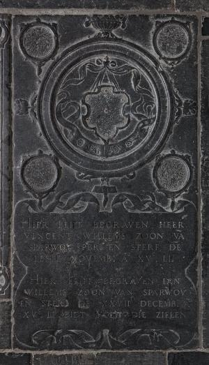 Floor slab of Vincent Willemsz. van Sparwoude and Jan Willemsz. van Sparwoude
