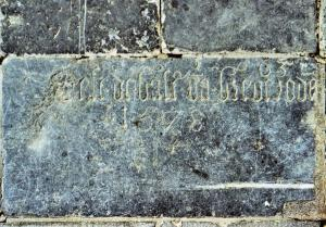 Floor slab of Joest, bastard of Brederode