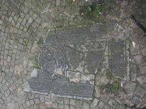 Floor slab of an unidentified Rijnsburg priest