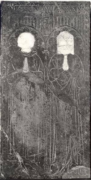 Floor slab of Coene Boem and his wife Karstine