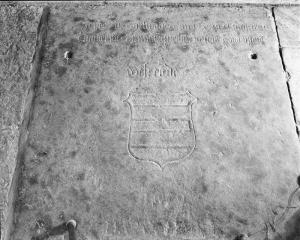 Floor slab of Johannes de Westende - upper half