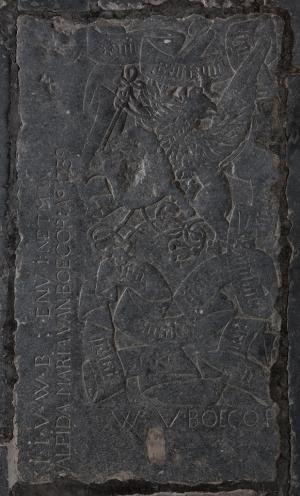 Floor slab of unknown person(s) and members of the Van Boecop family