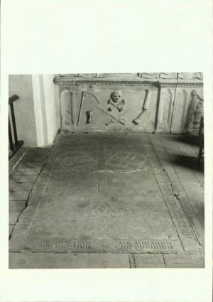 Floor slab of Zeigher and Frederic van Rechter