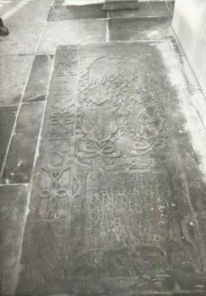 Floor slab of Ernst van Ittersum and Anna van Cortrijck