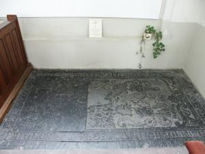 Floor slab of Gijsbert van Deelen and Aleid van Lennep