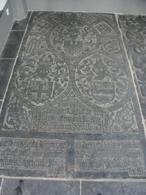 Floor slab of Zeger van Arnhem, Anna Bentinck and Catharina van Hönnepel