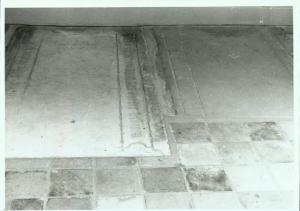 Floor slab of Rutger Severini