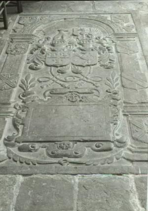 Floor slab of Heymerick van Bemmel and Anna van Meerten