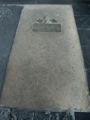 Floor slab of Everhardus Jarghes