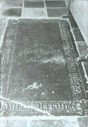 Floor slab of Cornelis(?) Geriitsz.