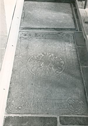 Floor slab of Willem Glavimans Willemsz.