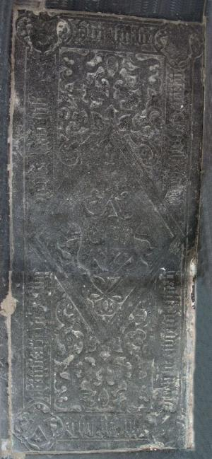 Floor slab of Elyzabet Jacob Gerritz and Eugen Gerritz