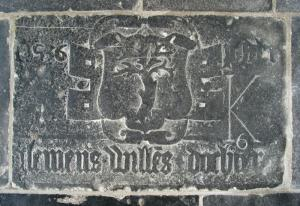 Floor slab of P[...] Clemens Willemszdr.