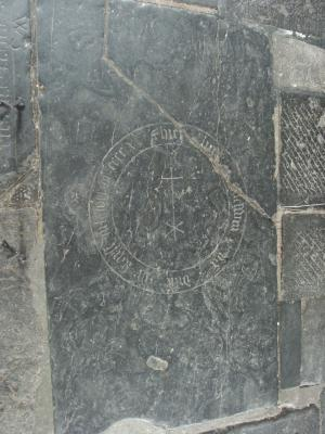 Floor slab of Goeswin van Di[...]
