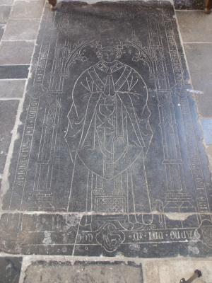 Floor slab of Tilmanus de Frens