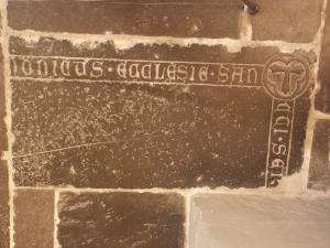 Floor slab of an unknown canon (fragment(s))