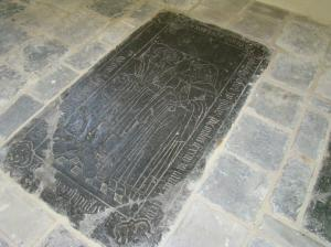 Floor slab of Jacop Cornelis Blieck and Lette Colpaert