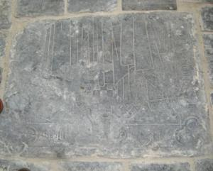 Floor slab of [...] and [...] [Chr?]stof[f]els