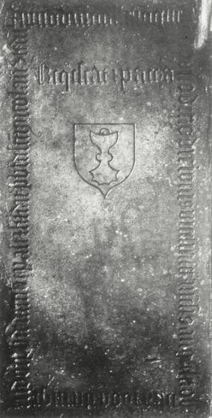 Floor slab of Ludolphus van Dam