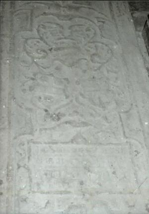 Floor slab of Swer Renghers, detail