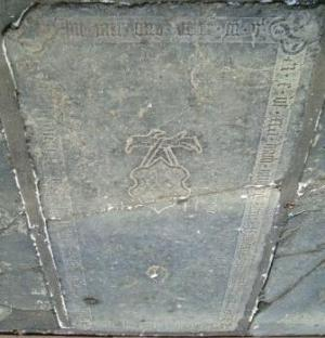 Floor slab of Edwer Tjercks van Tjercksma and Hid Nannes