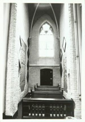 Floor slab of Gerhart van Imstenraedt and Agnes van Amstenraed: chapel