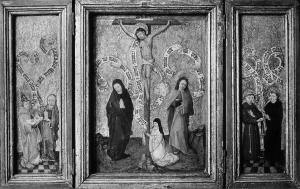 Memo search database memorial objects results crucifixion with devotional portrait of a female member of a convent altavistaventures Image collections