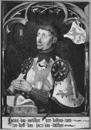 II. Devotional portrait of Hendrik II van Naaldwijk