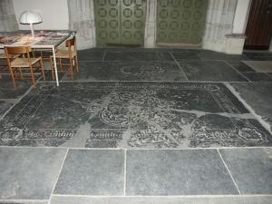 Floor slab of Lazarus de Rosetis