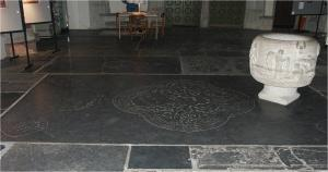 Floor slab of Johan(nes) Proys