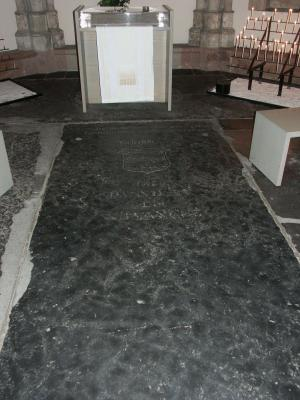 Floor slab of Johannes de Westende