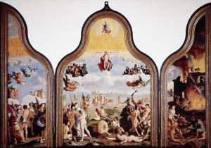 Last Judgement (opened state)
