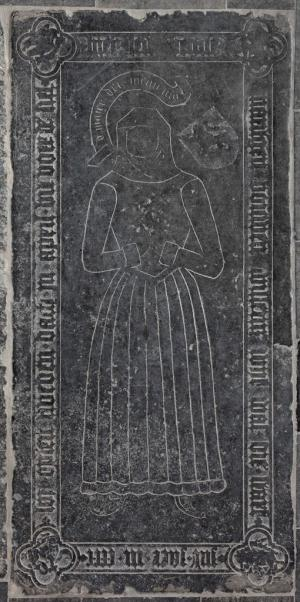 Floor slab of Maritgen, wife of Bouwen Willemsz. van Drenckwaert
