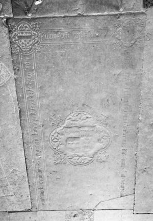 Floor slab of Henricus de Moudwijck