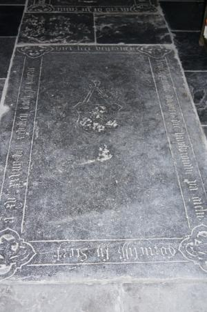 Floor slab of Leene Cornelisdr.