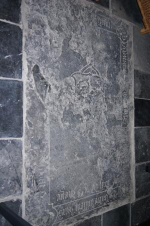 Floor slab of Adriaen [...] and Balte Willem Jansdr.(?)