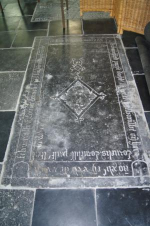 Floor slab of Cornelis(?) Cornelis Jansz. van Rijswijck and family