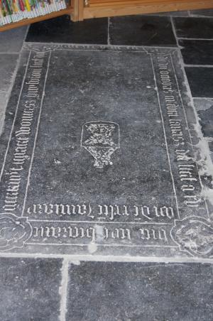 Floor slab of Geertruyt, wife of Lenaert Woutersz., and Evert Laurisz.