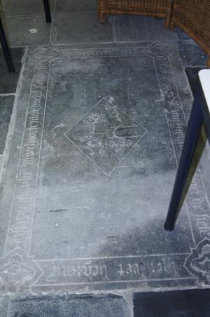 Floor slab of Mariken, daughter of Joest Ruychrock
