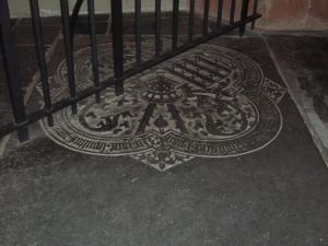 Floor slab of Johannes van Drakenburg