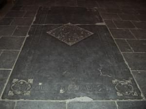 Floor slab of Johannes de Bouchout