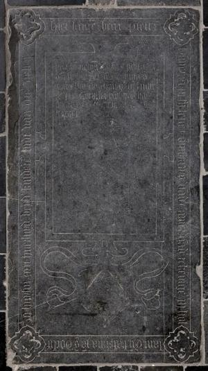 Floor slab of Pieter Hanneman, Catharina Jansdr. van Warren, and their children