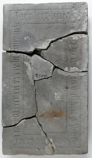 Floor slab of Mayken, wife of Willem Willaerts