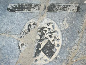 Floor slab of Epo van Aylva and Beatrix van Walta