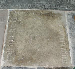 Floor slab of Willem Frederik[...] (fragment(s))