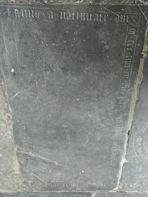 Floor slab of Eimo de Sitert