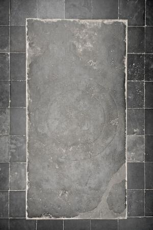 Floor slab of Peeter de Bonte