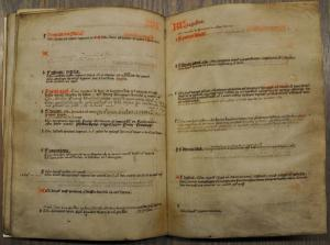 'Jaargetijdenboek' of the Beghard convent in Maastricht, ff. 15v-16r