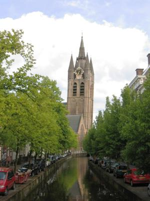 St Hippolytus's Church in Delft (Old Church; Old John)