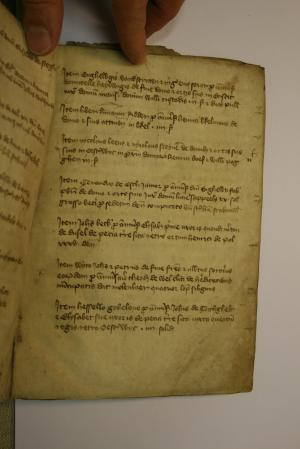 Register of gifts of the parish church of Oisterwijk, Herman Mulder, fol. 3r.